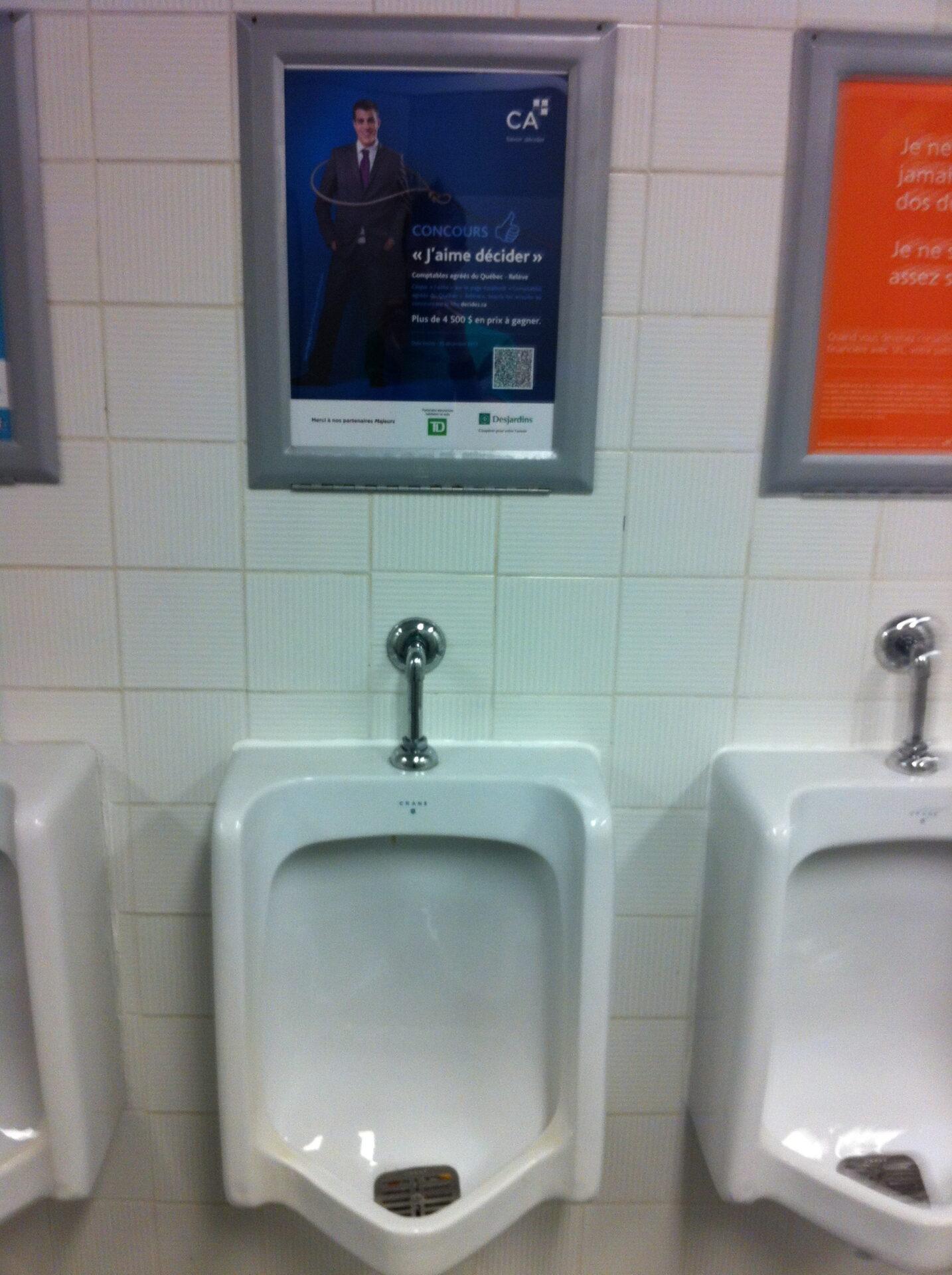 Pub urinoir