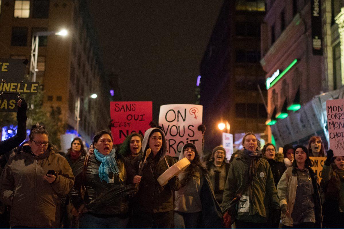 Montréal s'unit contre la culture du viol