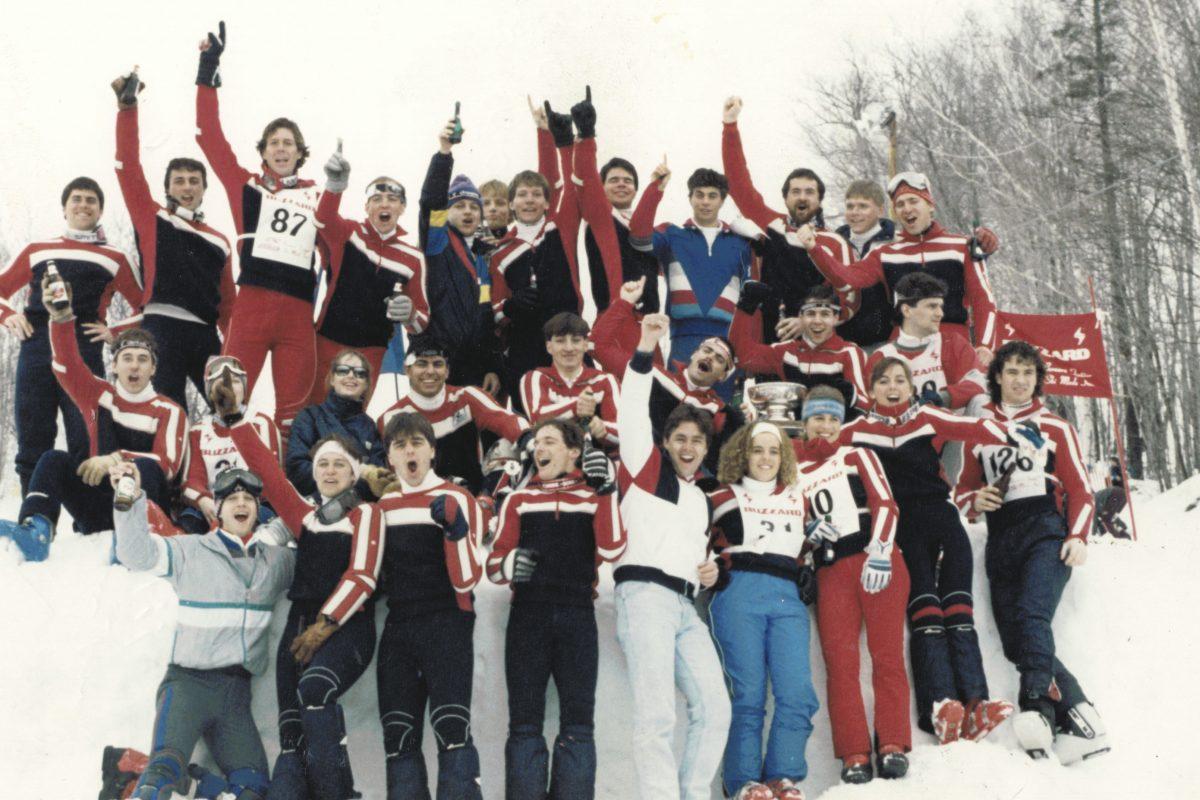 Sur la piste de l'équipe de ski