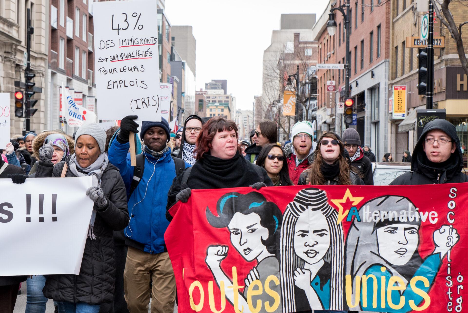 Dénoncer le racisme dans les universités
