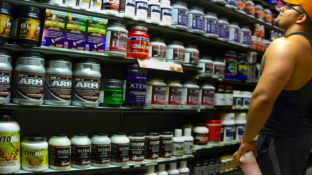 Protéines et « shakes » à la végétalienne