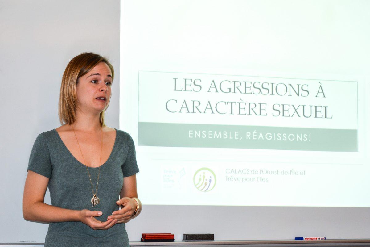 Violences sexuelles : des ateliers pour mieux s'armer