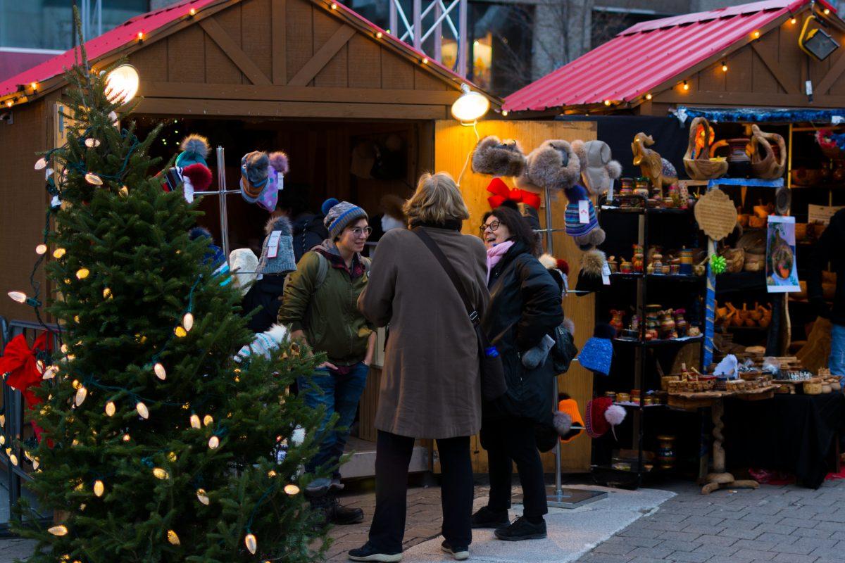 Les marchés de Noël, un théâtre de produits locaux