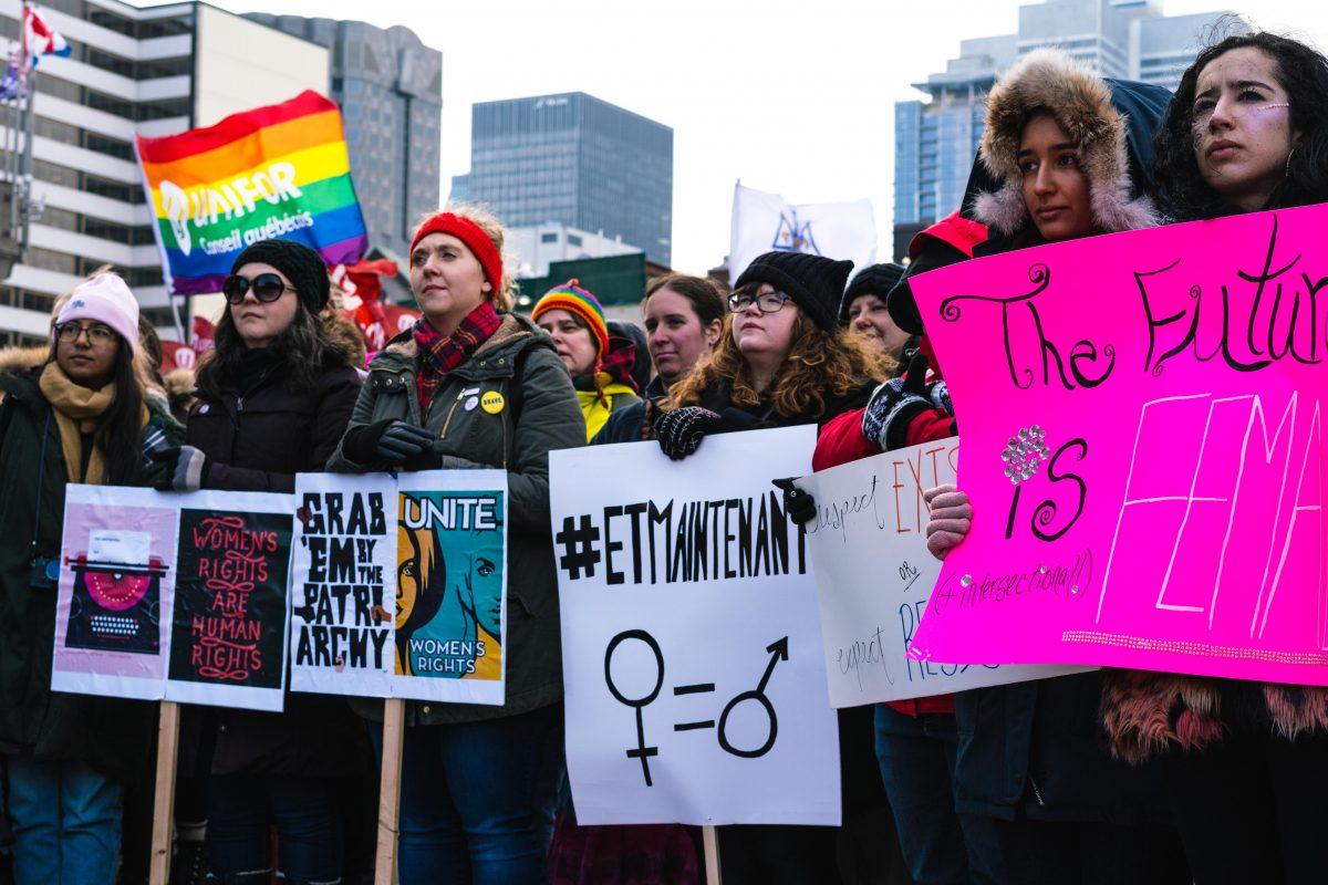 Marche des femmes : manifester après #MoiAussi
