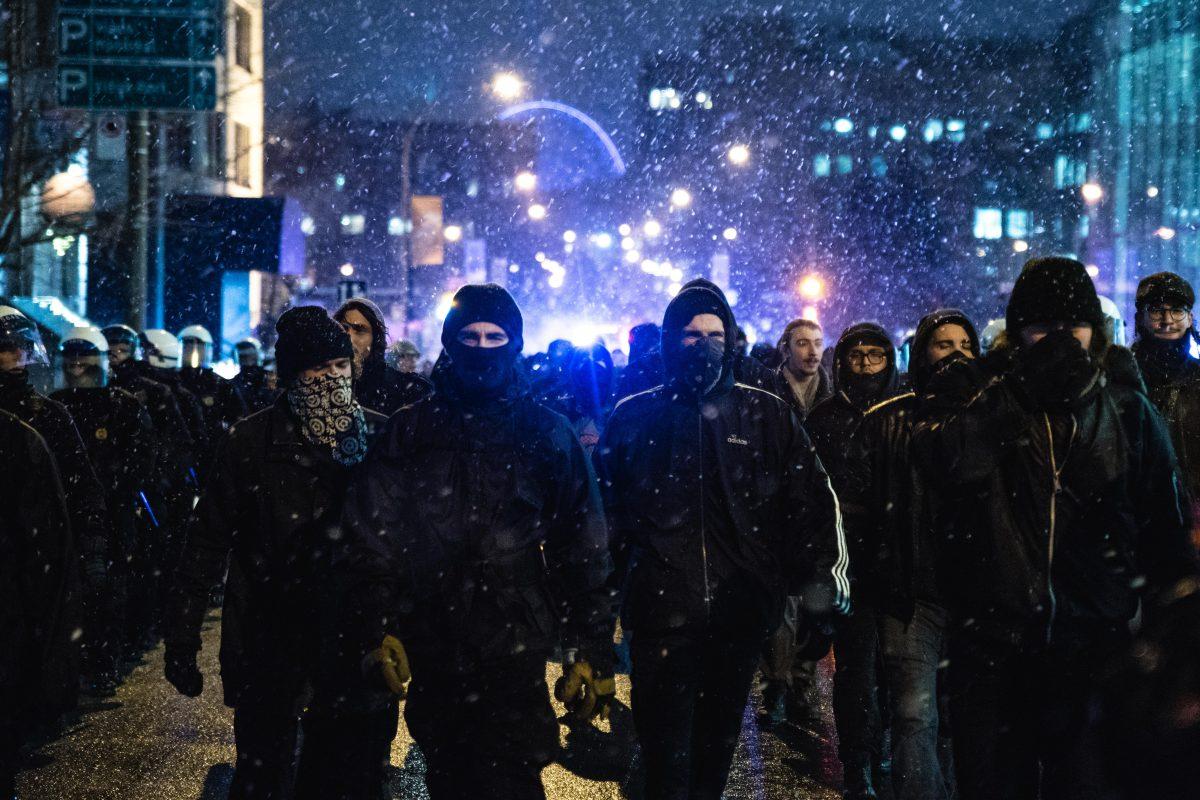 Brutalité policière à Maniwaki : la contestation à Montréal