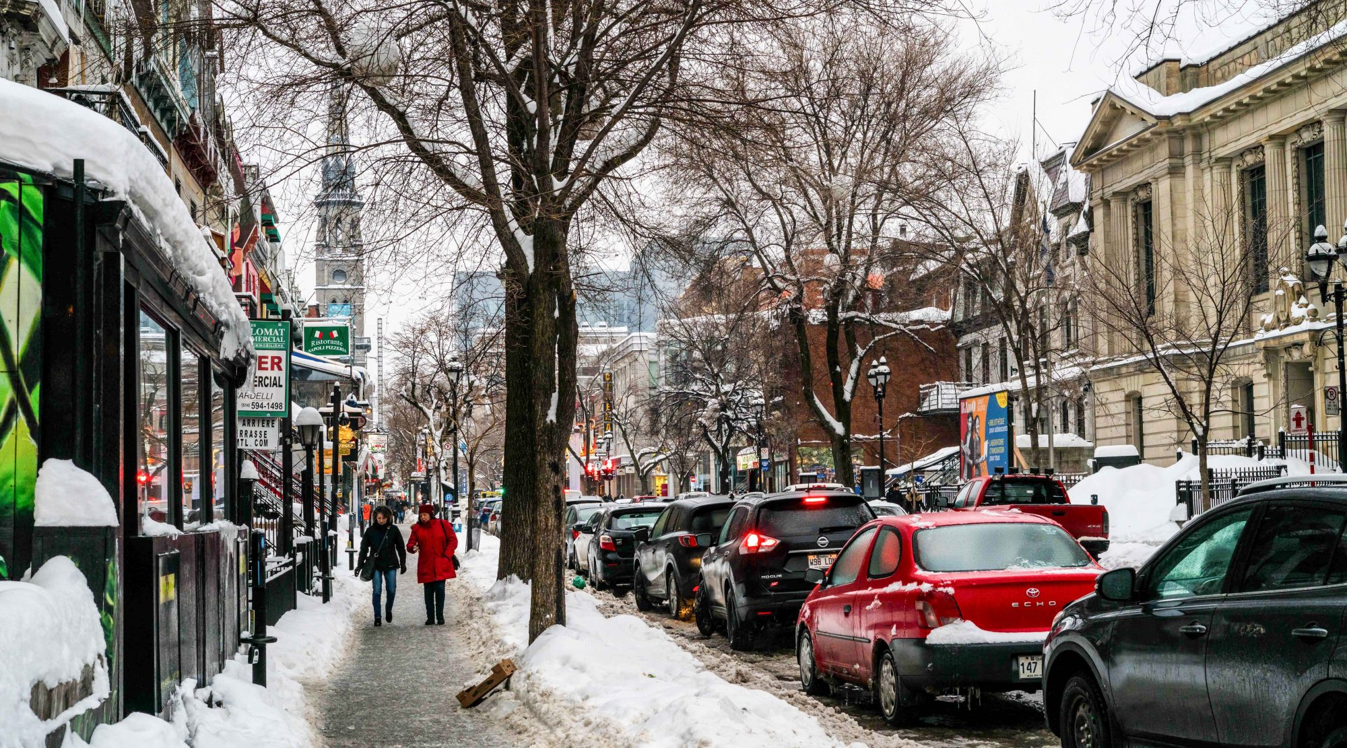 Le quartier bourgeois de Montréal