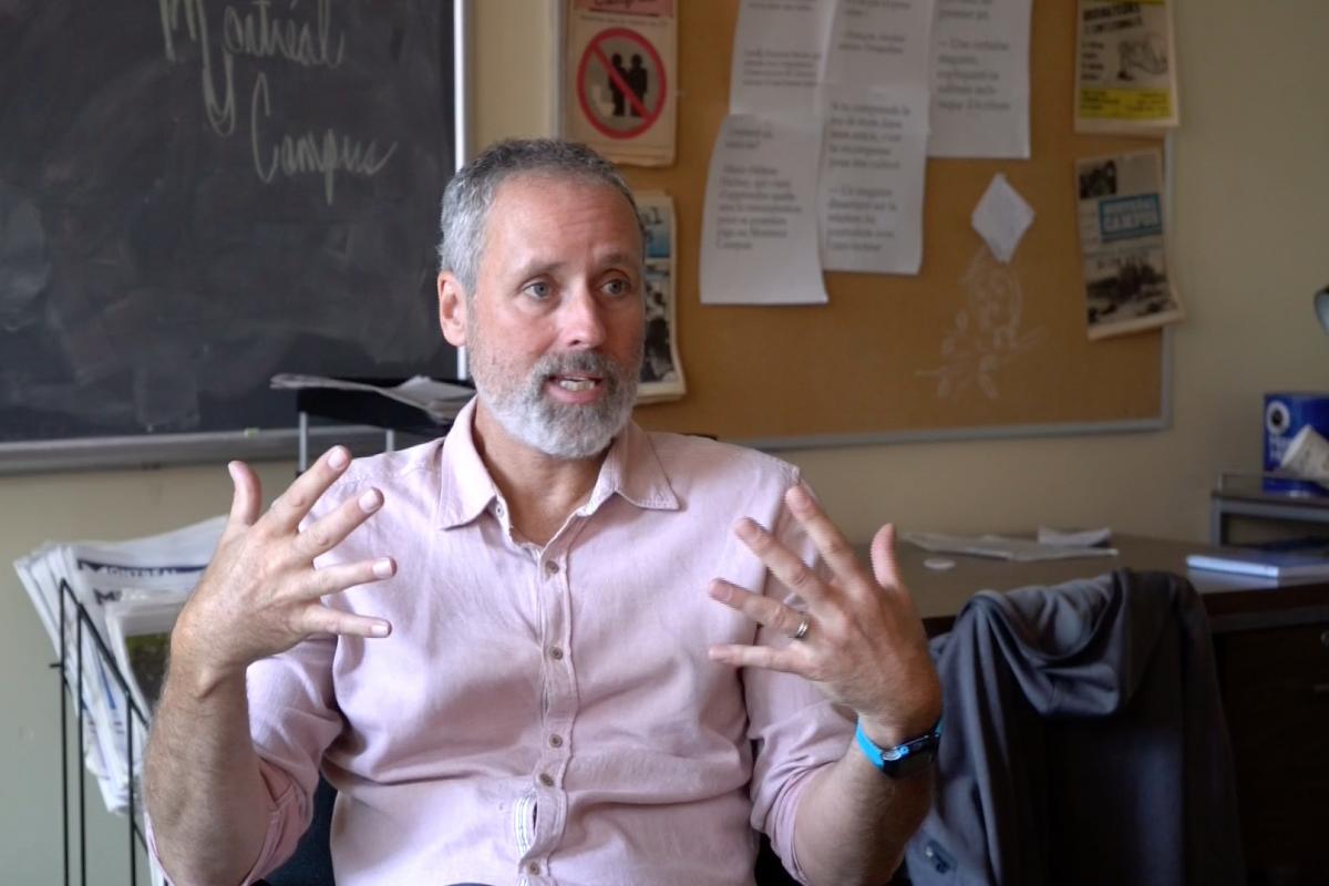 [Vidéo] Aux racines de la plume de Vincent Marissal