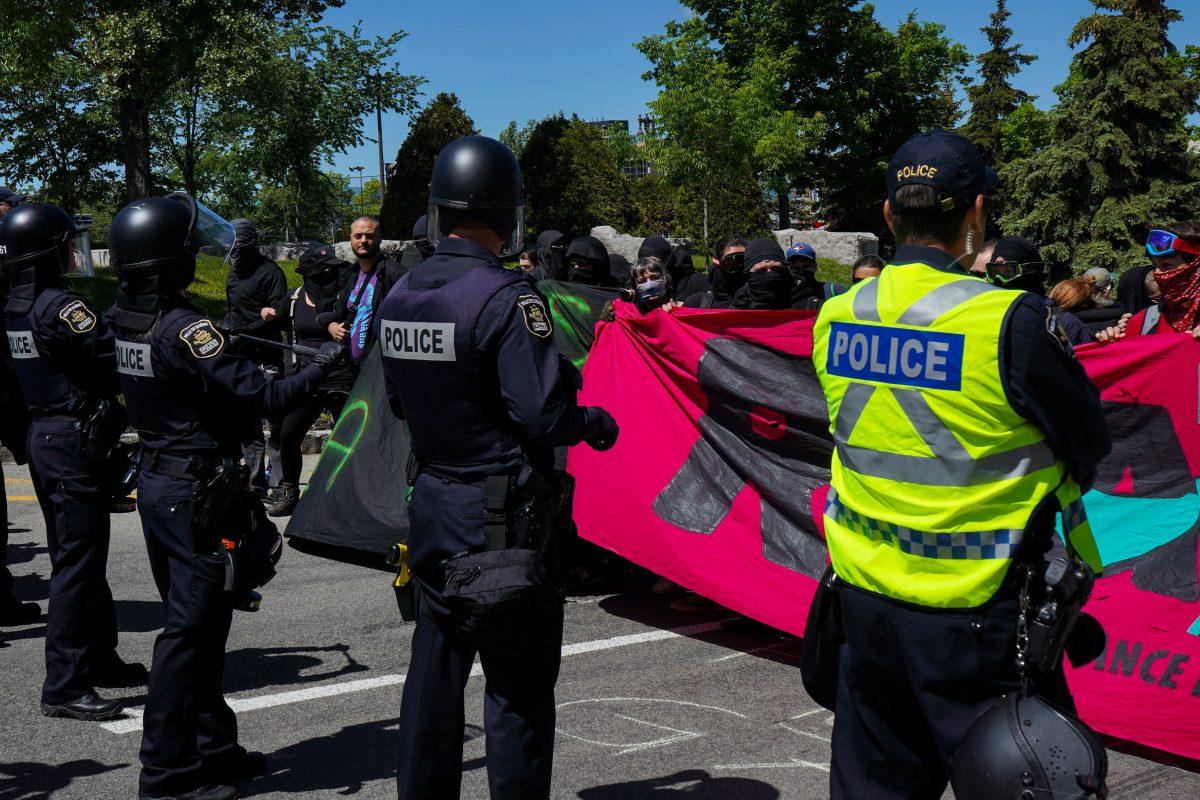 «Peur et intimidation» aux manifestations anti-G7, selon un rapport
