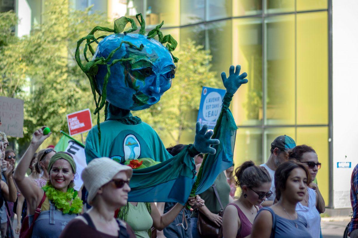 Le mouvement étudiant se mobilise face à l'urgence climatique