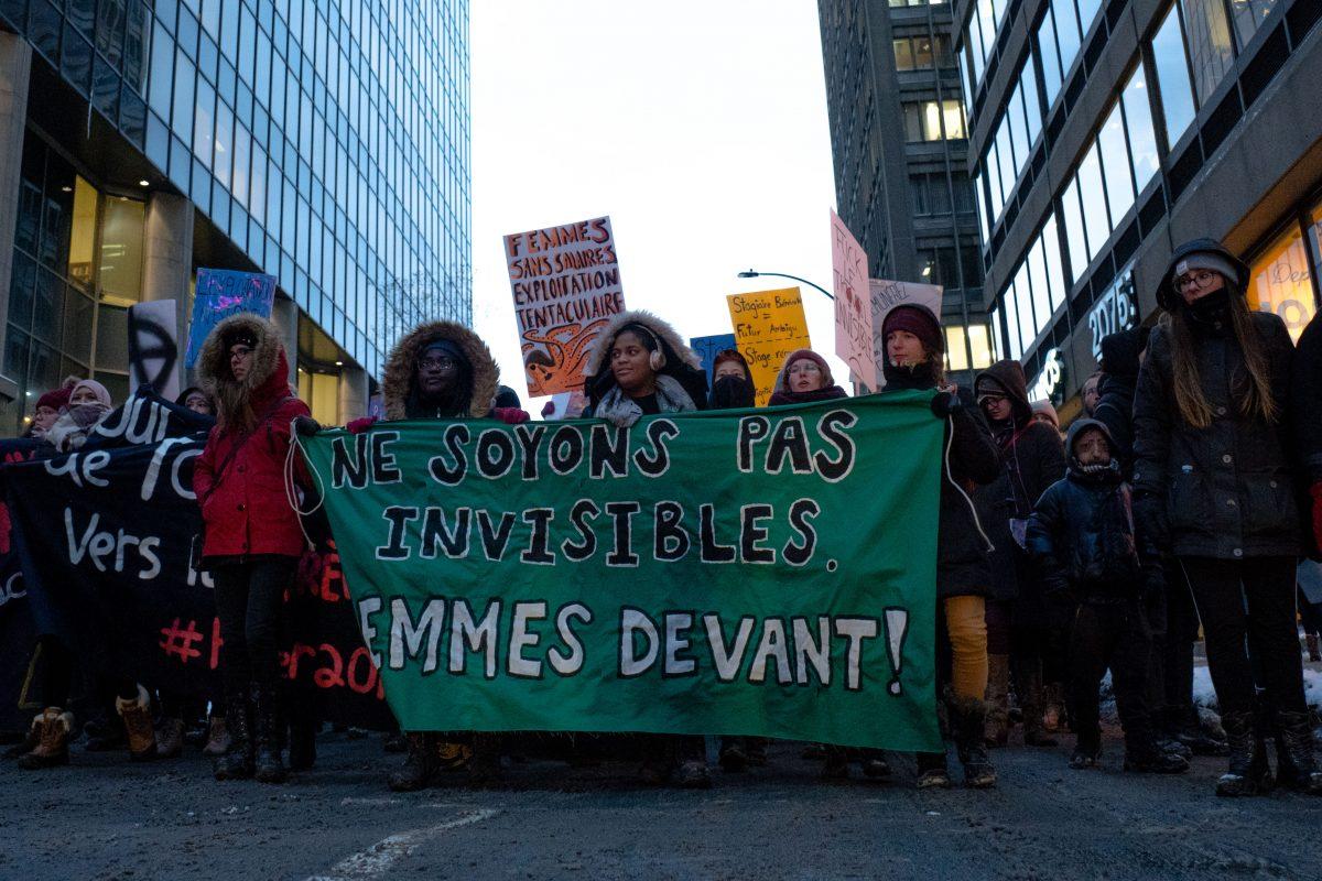 «L'exploitation, pas une vocation!» : les stagiaires prennent les rues d'assaut