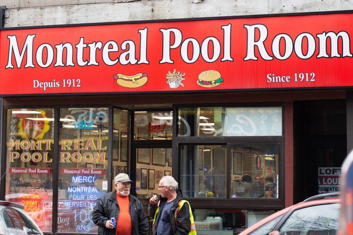La nostalgie au menu du Montreal Pool Room