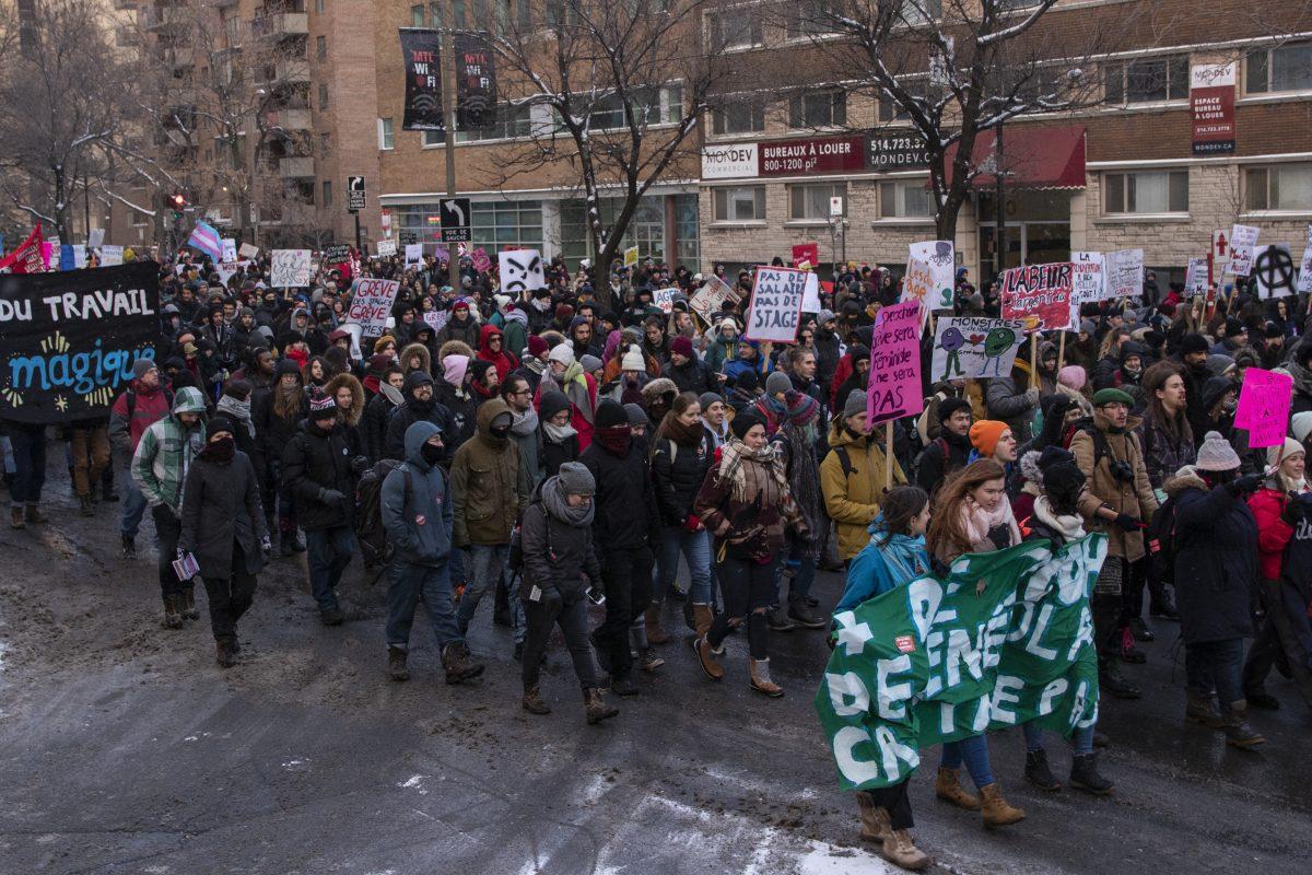 Un mois de mars chargé en grèves pour le mouvement pour la rémunération des stages
