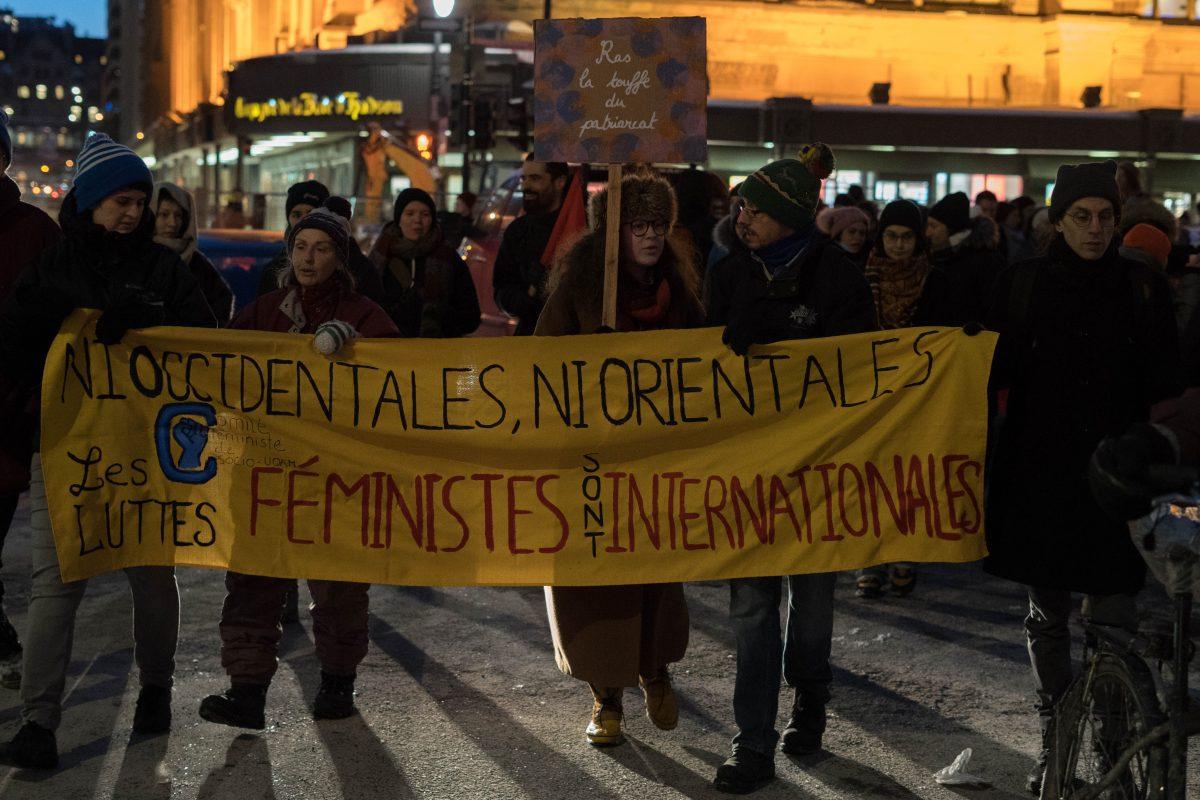 Montréal se mobilise pour la Journée internationale des droits des femmes