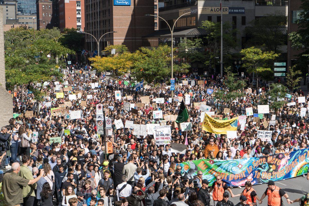 Montréal, épicentre de la planète le temps d'une marche
