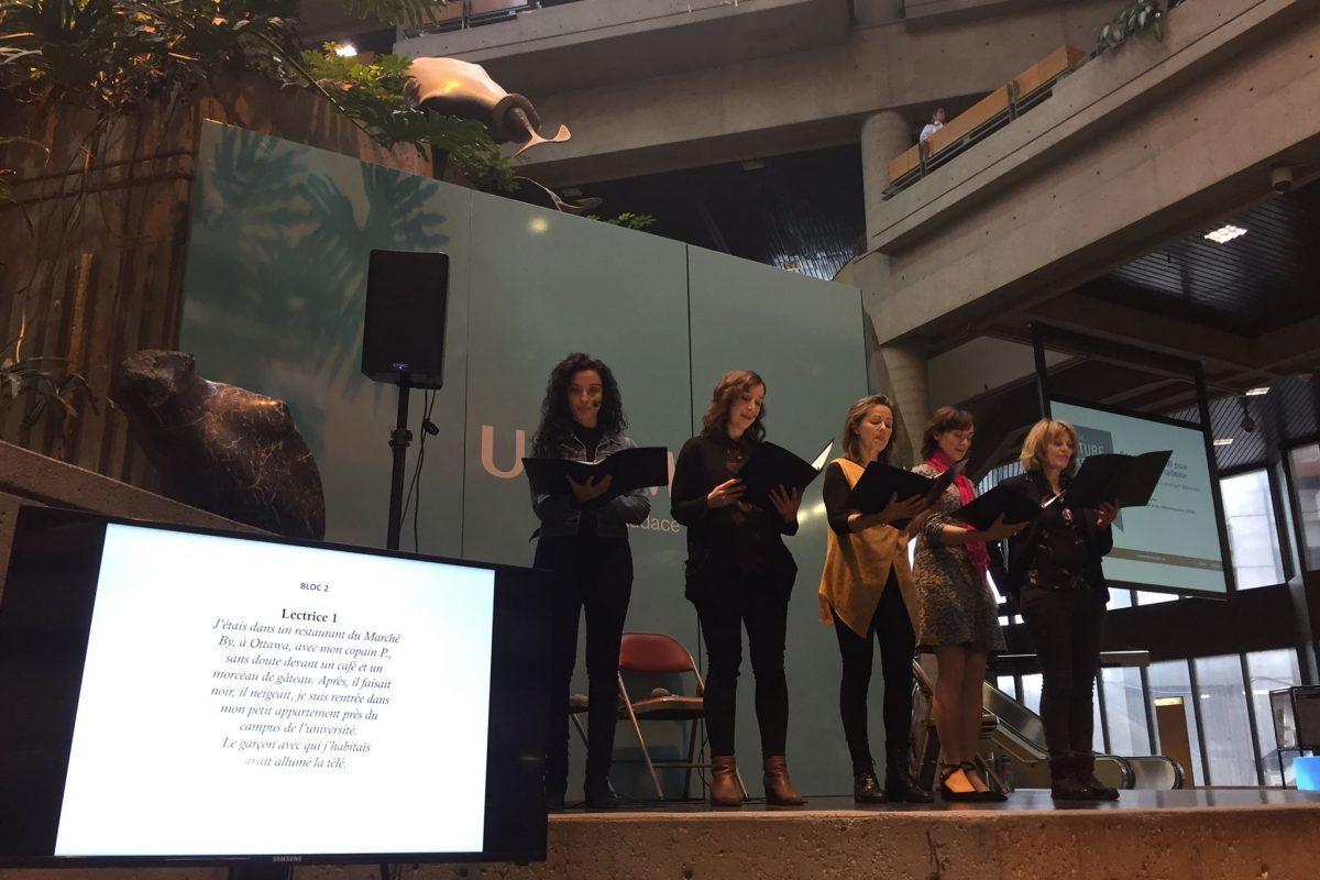 30e anniversaire du drame de Polytechnique : Touchante commémoration à l'UQAM