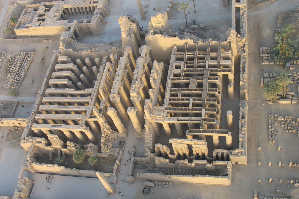Mission UQAM à Karnak : pour reconstruire l'histoire