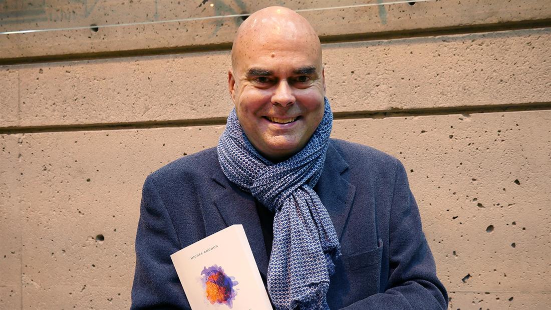 Deuxième livre de Michel Rochon : du cerveau jusqu'au coeur