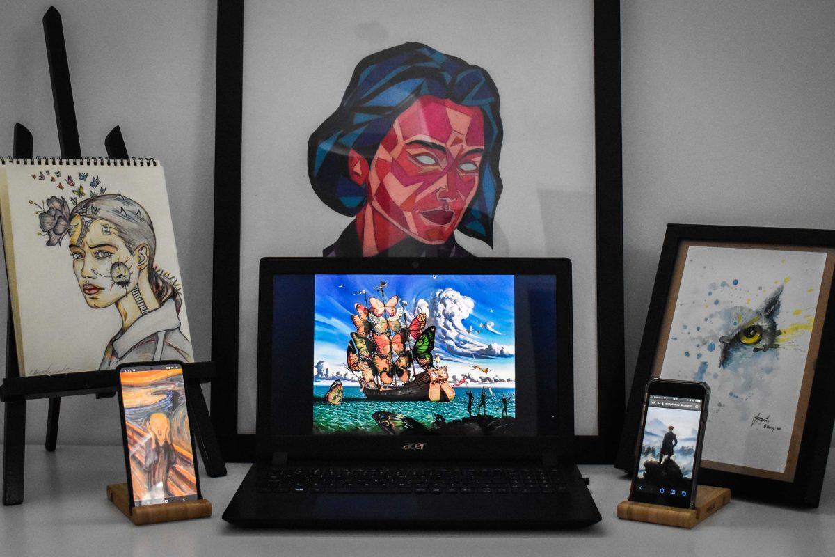 Les réseaux sociaux au service de l'art
