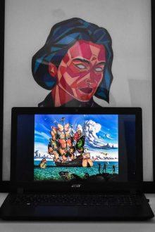 oeuvre d'art et réseaux sociaux